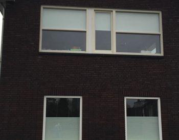 raamdecoratie strijbosch - plisse transparant beneden met rolgordijnen boven-crop-u1992573