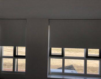 raamdecoratie strijbosch - rolgordijn verduisterend wit