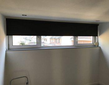 raamdecoratie strijbosch - rolgordijn zwart kopie