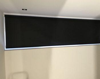 raamdecoratie strijbosch - rolgordijn zwart verduisterend