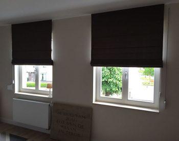raamdecoratie strijbosch - vouwgordijn gevoerd