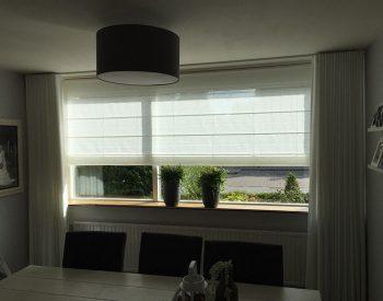raamdecoratie strijbosch - vouwgordijn met inbetween waveplooi