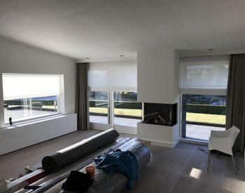 raamdecoratie strijbosch - vouwgordijn met overgordijn kopie