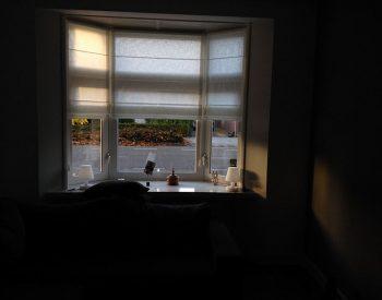 raamdecoratie strijbosch - vouwgordijnen transparant